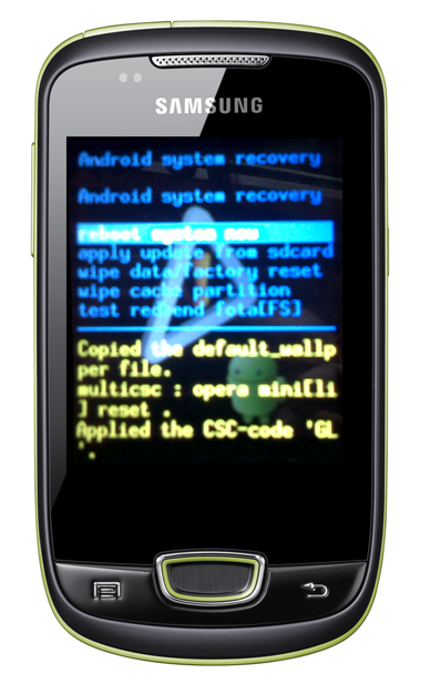 recovery mode samsung galaxy mini