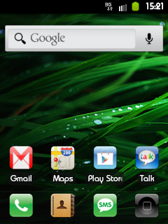 Home Screen iCUSTOM DXKT6 Galaxy Mini