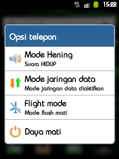 Power Option Menu iCUSTOM DXKT6 Galaxy Mini