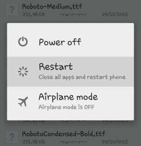 Cara mengganti / merubah font di android